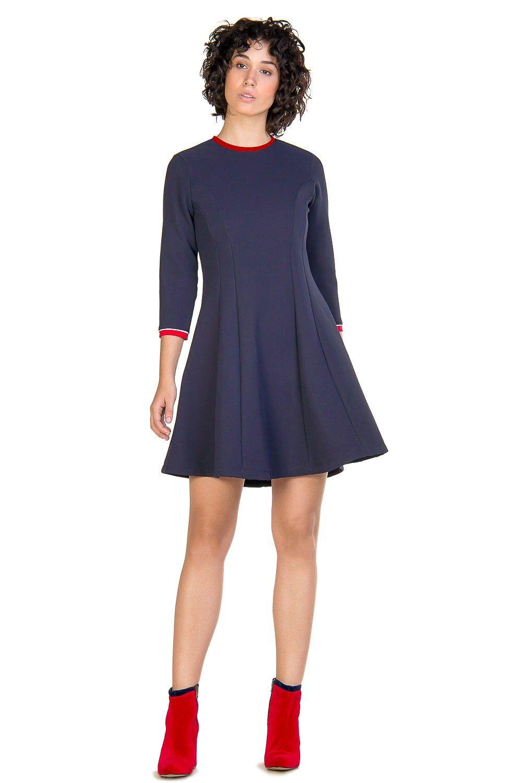 Vestido Linea Princesa Marino | dresses | Pinterest | Ser mujer, El ...