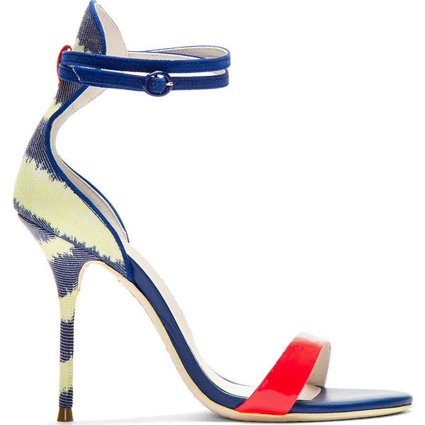 Nicole Leather Sandals - Blue Sophia Webster aJFHr