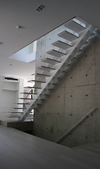 Floating Stair Company Offering Prefab Stairs Frameless Glass