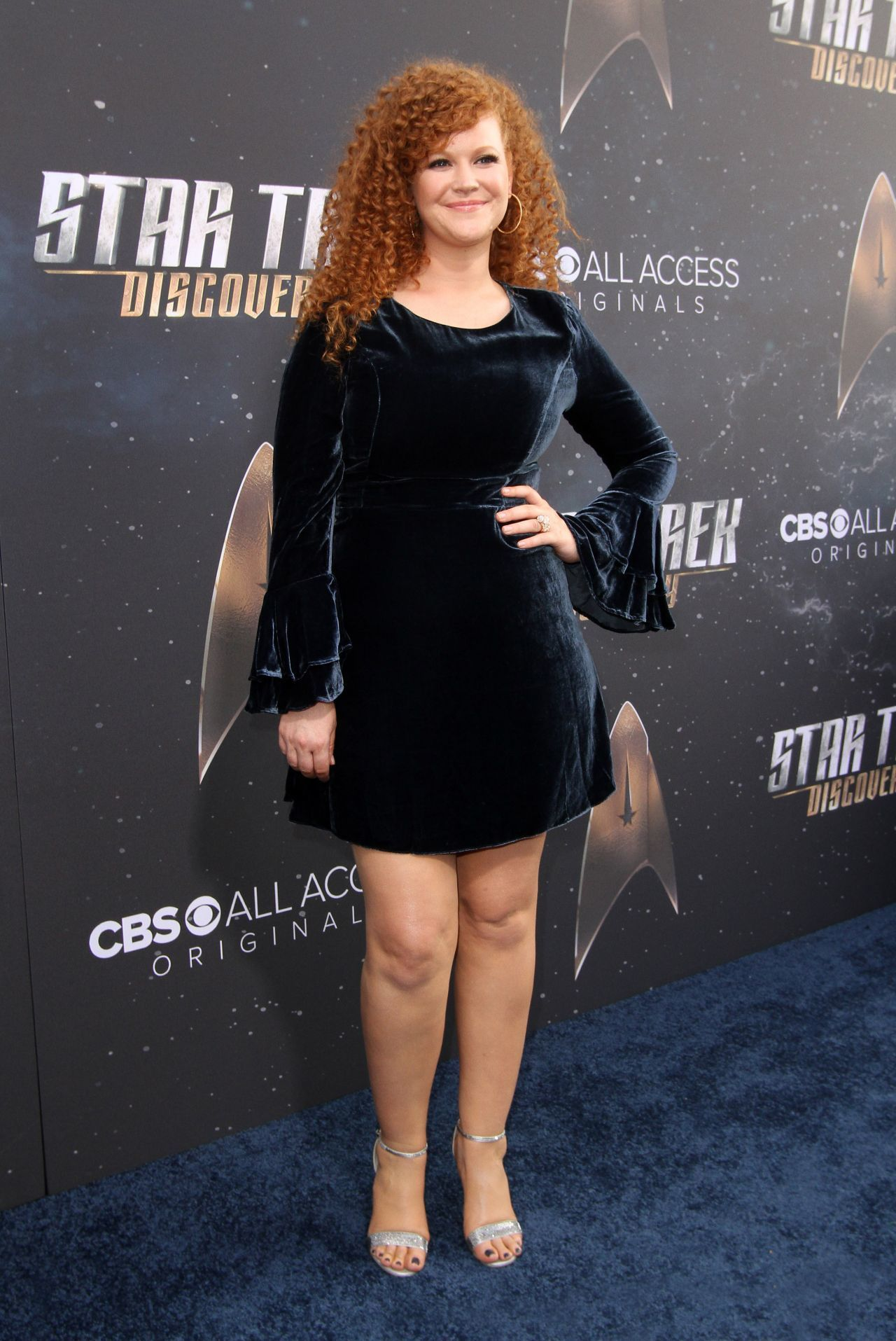 Mary Wiseman, atriz de Star Trek: Discovery. (Foto: Reprodução / Pinterest)