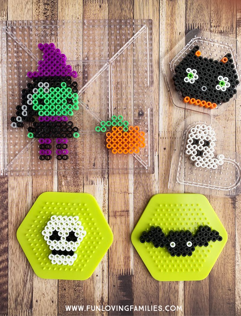 Photo of 10 Easy Halloween Perler Bead Patterns – Fun Loving Families