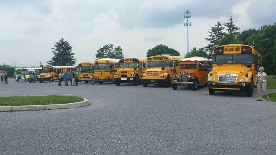 School Bus Enthusiasts Rally/Convention-Local Schools