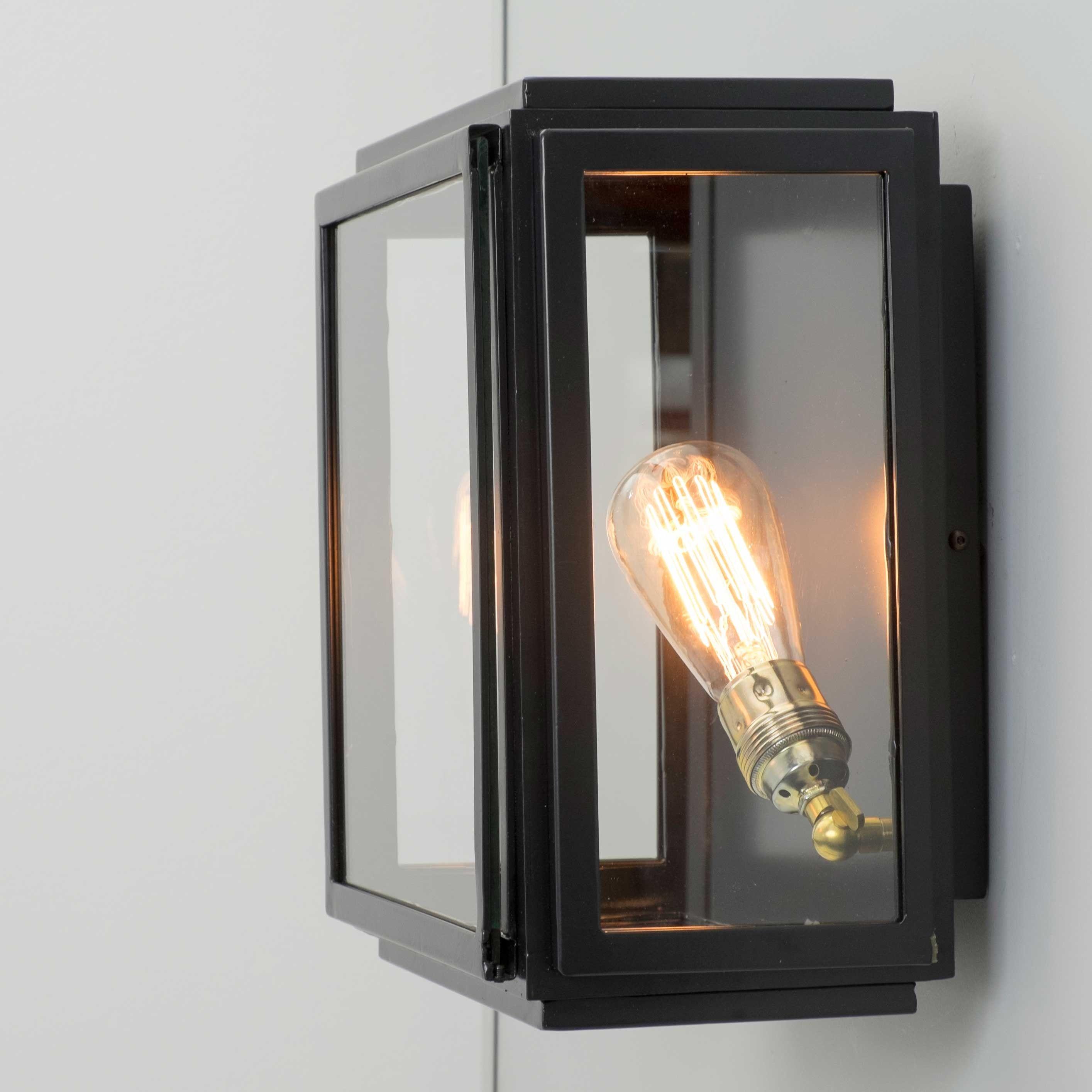 Aplique De Pared Vintage Cuadrado Con Cristal Transparente Dorcas Iluminacion De Pared Apliques De Pared Paredes Iluminadas