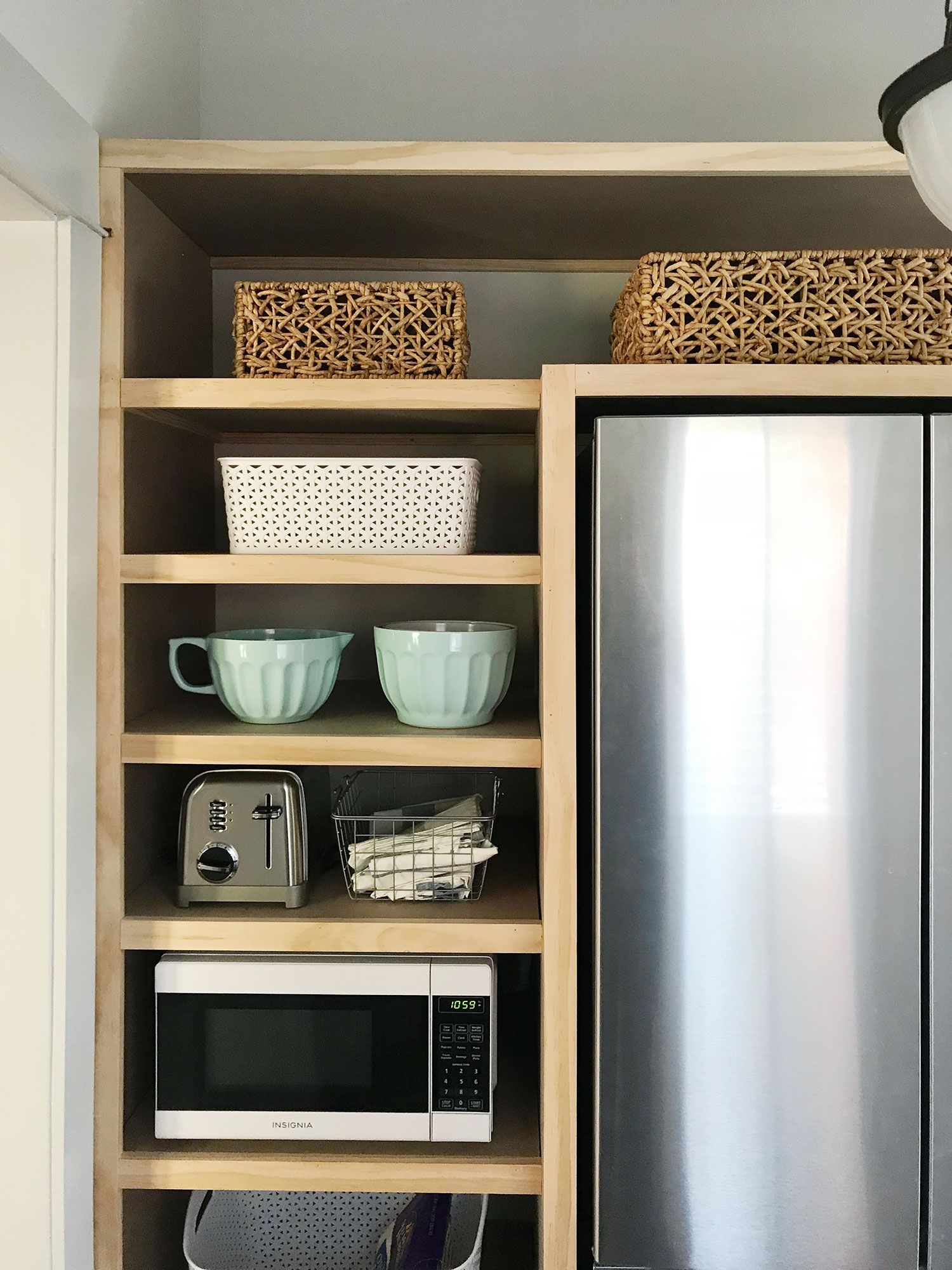 Learn How We Constructed Diy Pantry Shelves In Our Beach