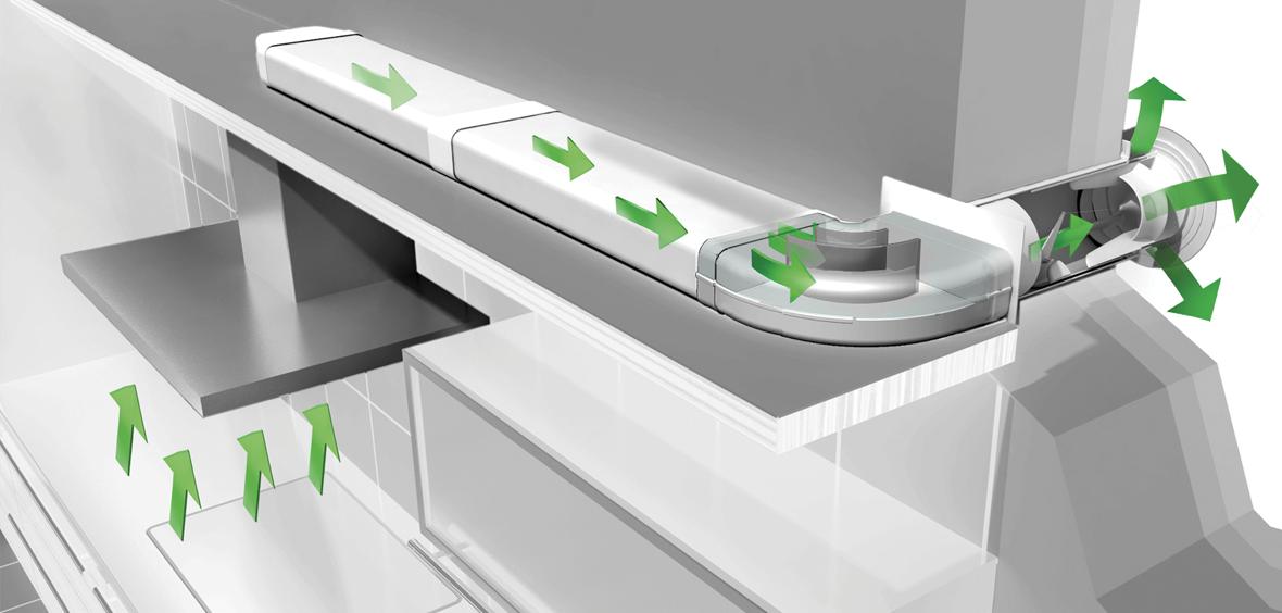 Airtight Ducting System Kits Keuken Idee Luchtafvoer Buitenmuren