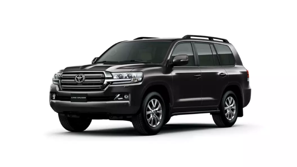Toyota Land Cruiser Black Colour Land cruiser, Toyota