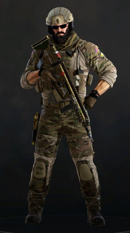 how to get rainbow six siege characters in wildlands