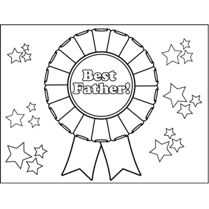 Best Father Medal Coloring Page Fathers Day Coloring Page Coloring Pages Mothers Day Coloring Pages