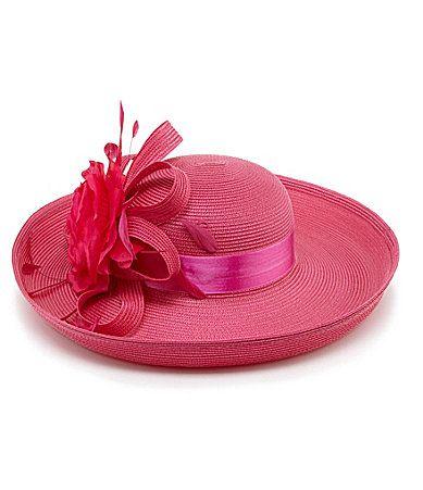 c536ddc4dff26 Kate Landry Side Sweep Dress Hat  Dillards