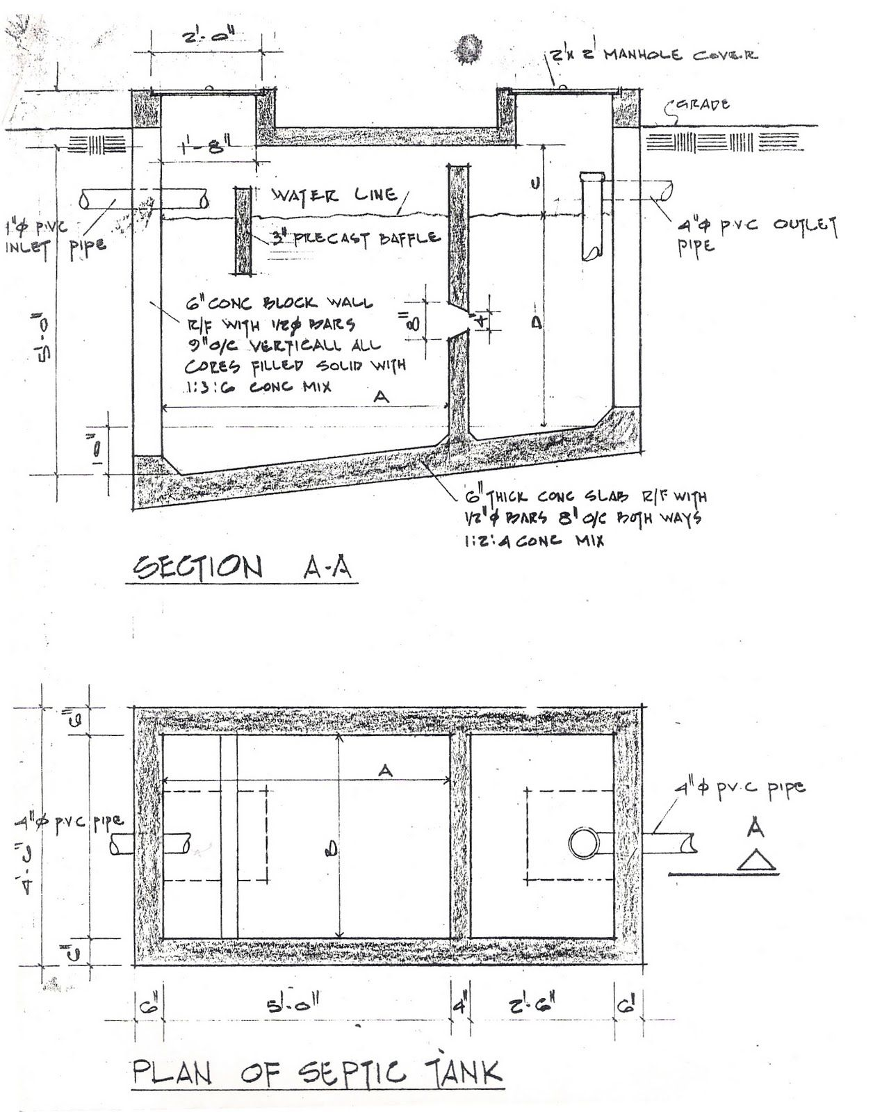 Septic Tank Design Example 98 With Septic Tank Design Example Cm Septic Tank Design Septic Tank Septic Tank Systems