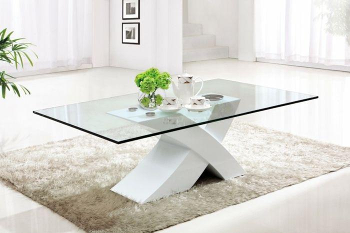 41 Variantes En Photos De La Table De Salon En Verre Modern