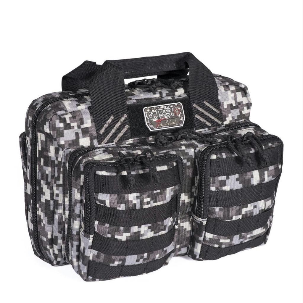 New Smith and Wesson M/&P Case Double Pistol Handgun Range Bag Ammo BLACK