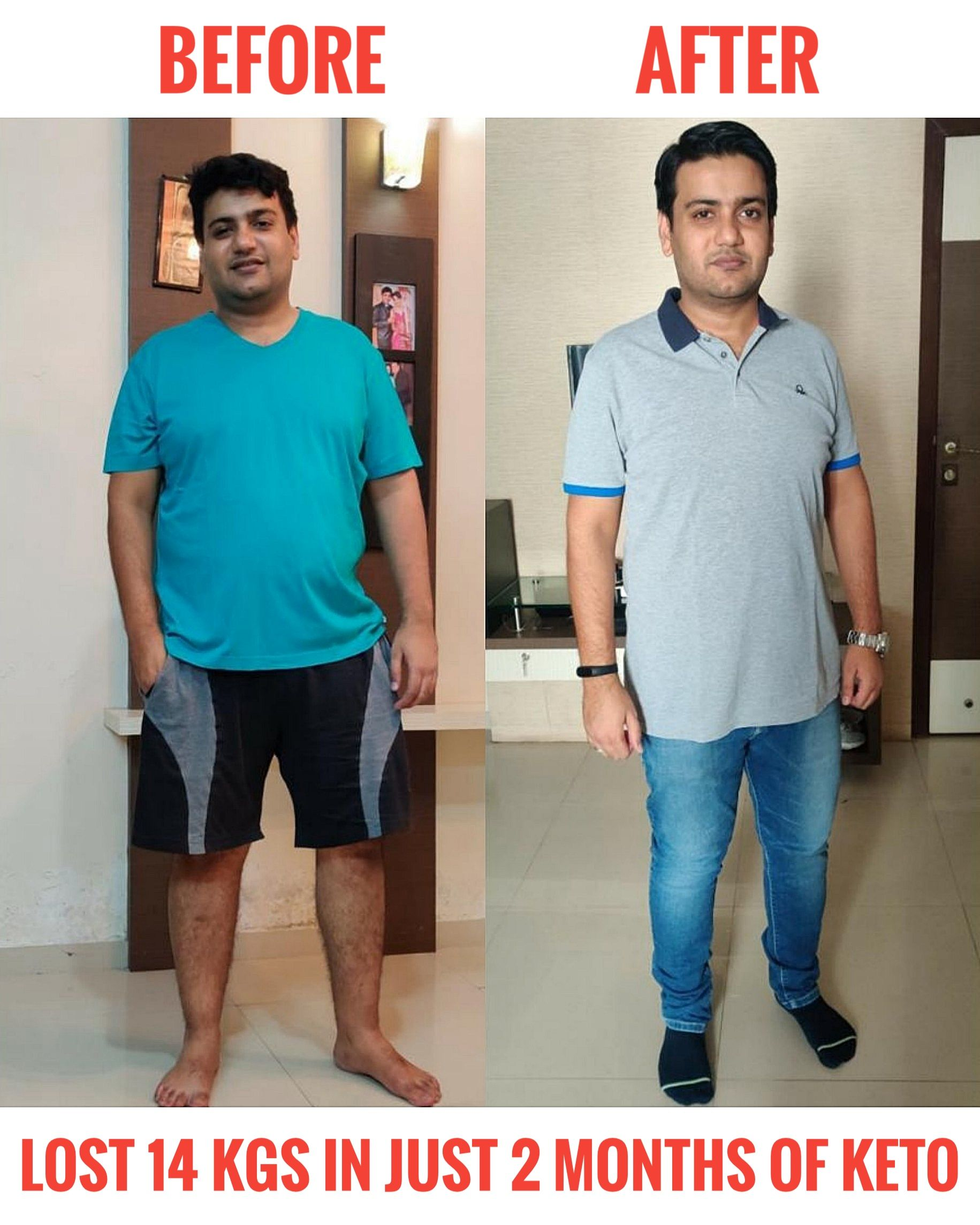 Punit Thakkar, a Businessman from Surat, India, started consulting us two months back and he has los...
