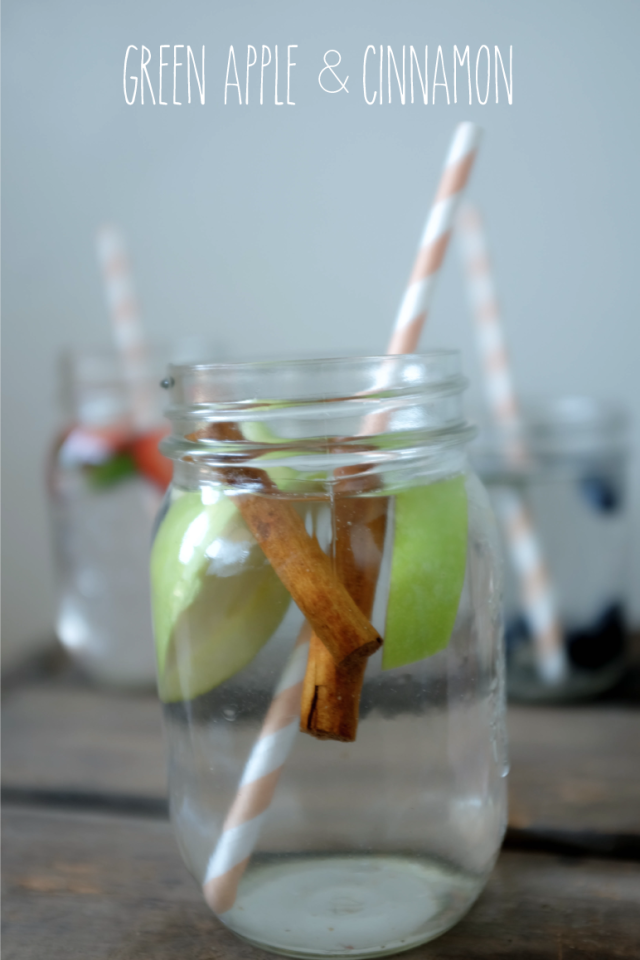 Blushed Tapatia: Green Apple & Cinnamon Infused Water