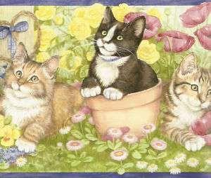 wallpaper border, cats flower wallpaper Background Hd