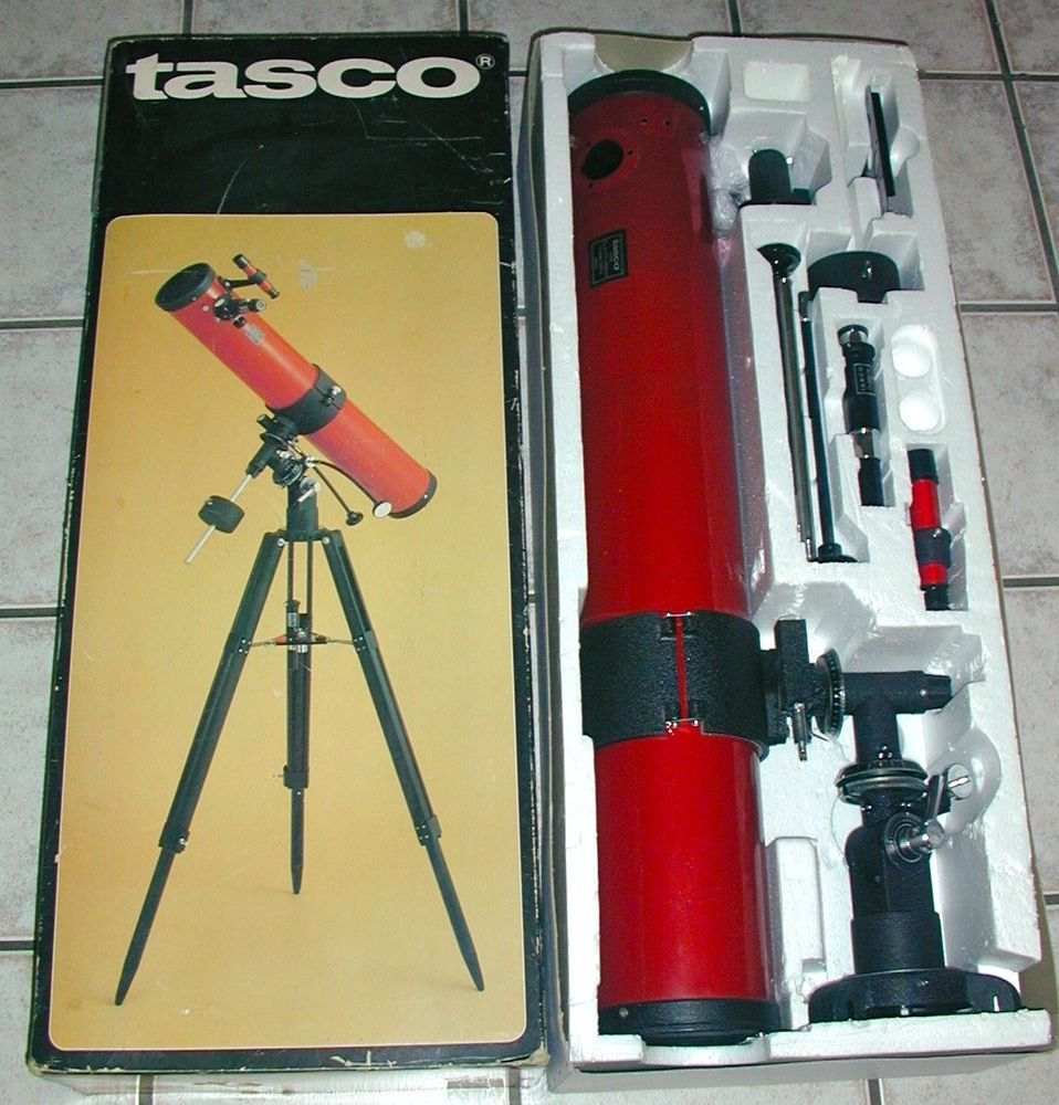Vintage Tasco 11T-R Astronomical Reflector Telescope 450
