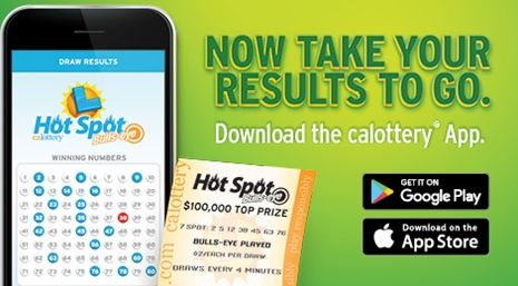 Lottery At Your Fingertips You've asked and it's here CA