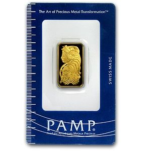 Pamp Suisse 10 Gram Gold Bar 9999 Fine In Assay Gold Bar Buying Gold Silver Bars