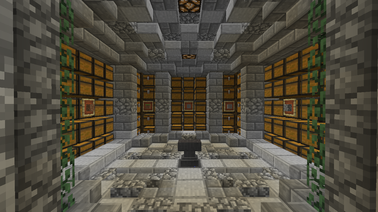 Storage Room Design Minecraft Minecraft Storage Room
