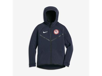 Nike Tech Fleece Team USA Big Kids  (Boys ) Hoodie (XS-XL ... 62e458f9b93b