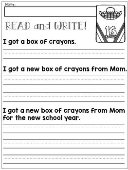 first grade handwriting practice expanding simple sentences tpt language arts lessons. Black Bedroom Furniture Sets. Home Design Ideas