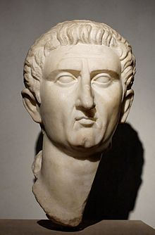 """Bust of Nerva, the 12th emperor and the first of the """"Adoptive Emperors. He lived from November 8, 30 – January 27, 98, and ruled as Roman Emperor from 96 until his death. Nerva became emperor at the age of 65, after a lifetime of imperial service under the Flavians."""