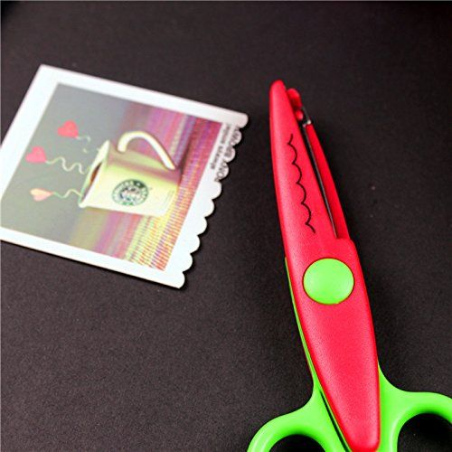 6 Types) Edge Craft Pattern Scissors Diary Planner Scrapbooking - money coupon template