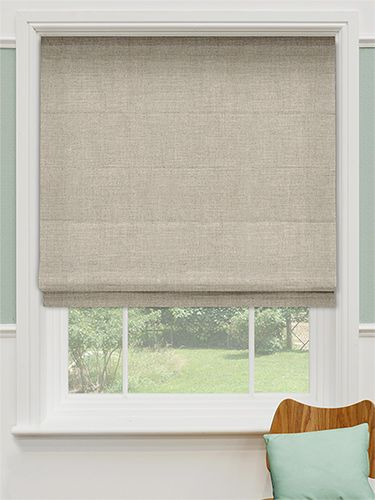 Decorating linen window shades inspiring photos for Linen shades window treatments
