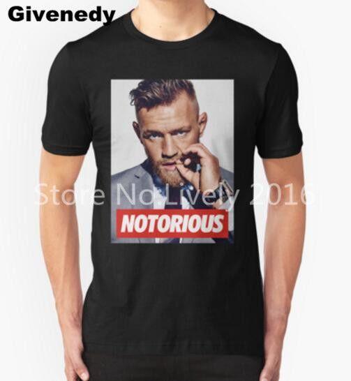 cea772f21 Conor McGregor MMA Lông Champion áo sơ mi t hip hop men tee shirt new 2016  trong camisa masculina thời trang nam t áo sơ mi