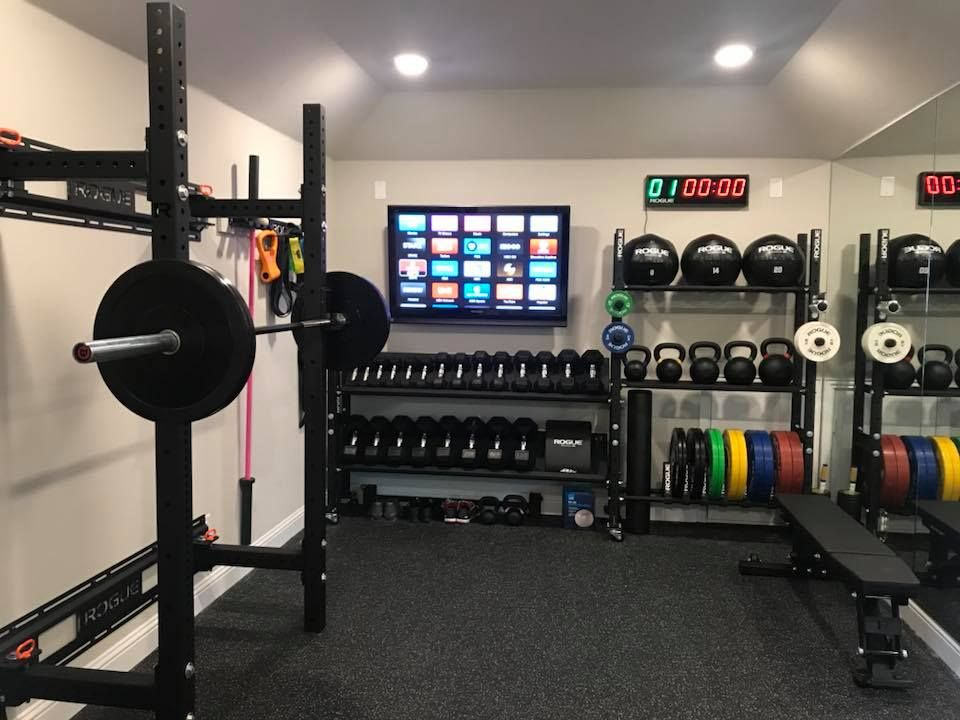 Rogue Home Gym Gym Room At Home Home Gym Decor Garage Gym