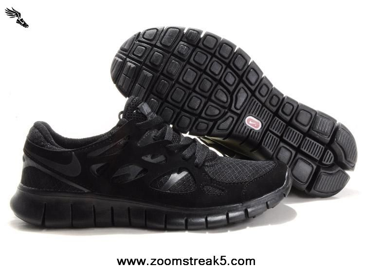 best sneakers ccb18 2dbb1 New 443815-002 Mens Black Anthracite Nike Free Run 2 Free Running Shoes