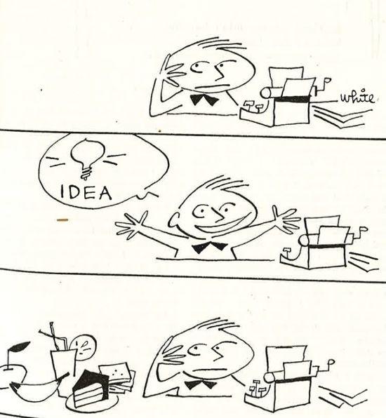 Vintage Writer Cartoons And Jokes Writing Humor Writing Prompts Fantasy Writer Humor