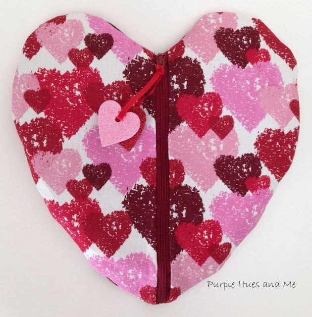 No Sew Duct Tape Heart Pouch