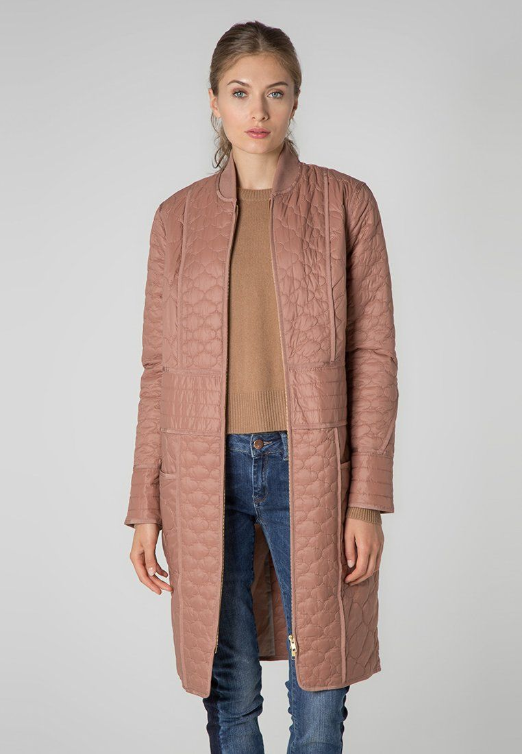 Targui Kurzmantel Altrosa Modestil Marken Kleidung Kurzmantel