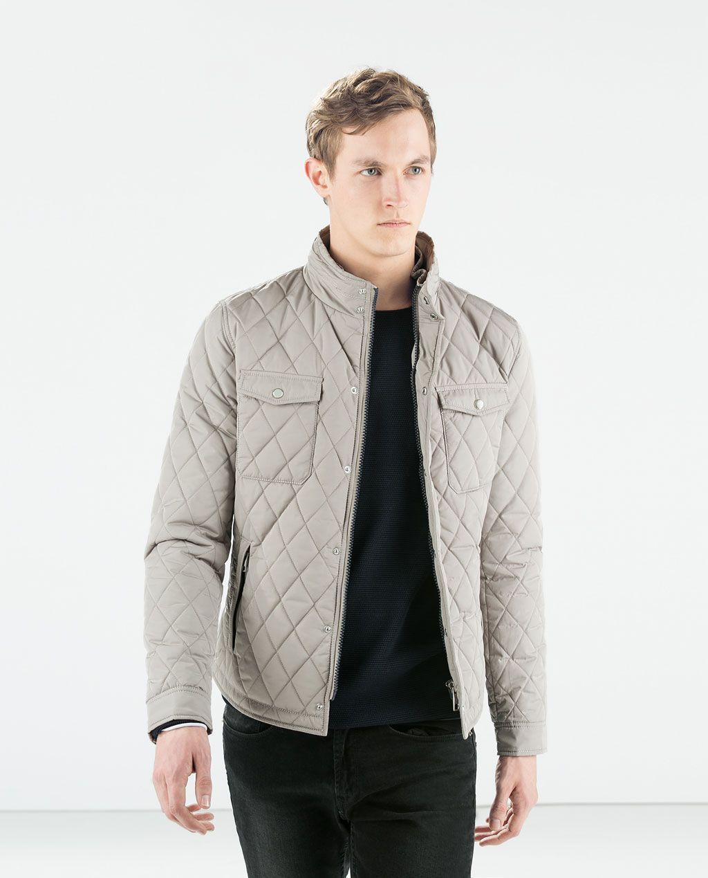 ZARA - COLLECTION SS15 - PADDED JACKET WITH BREAST POCKETS