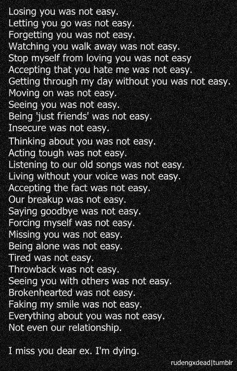 dear ex quotes Ex quotes, Breakup quotes, True quotes