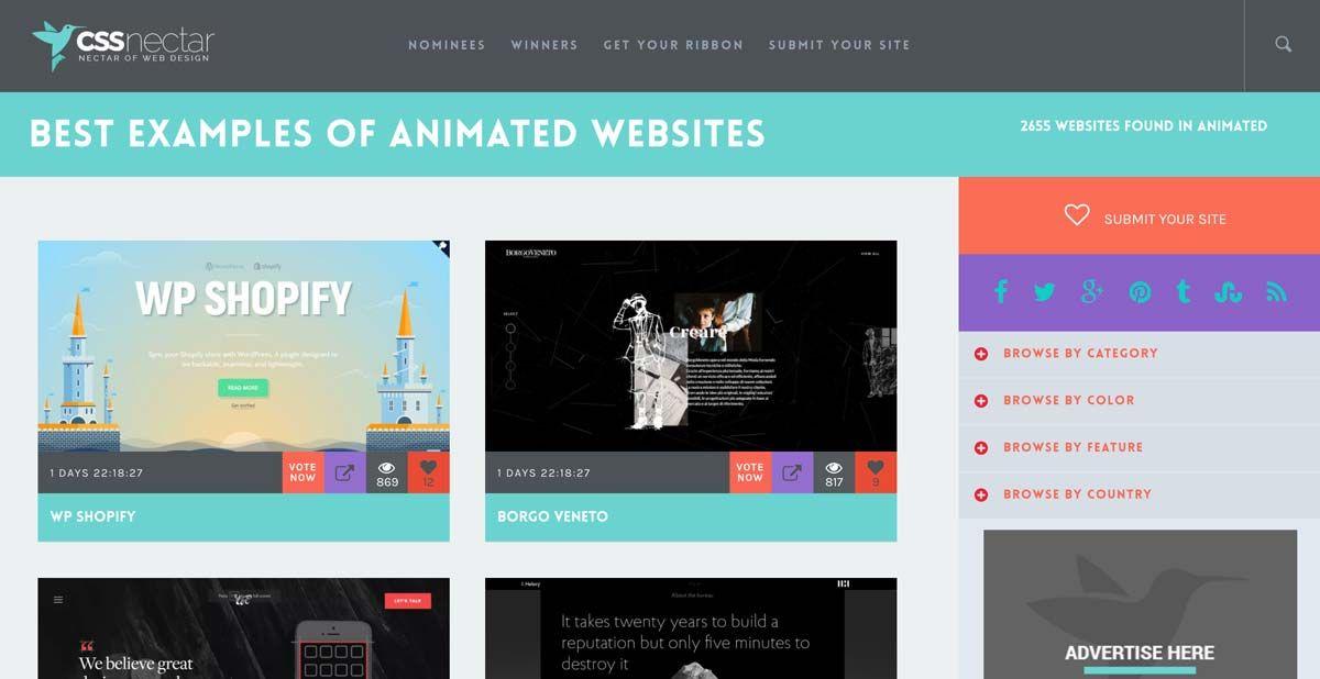 8 Websites Web Design Inspiration Html Css Perth Cssnectar Web Design Inspiration Web Design Cool Websites