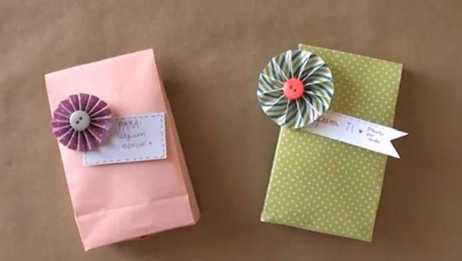 C mo hacer una bolsa para regalo bolsas pinterest - Como hacer bolsas de regalo ...