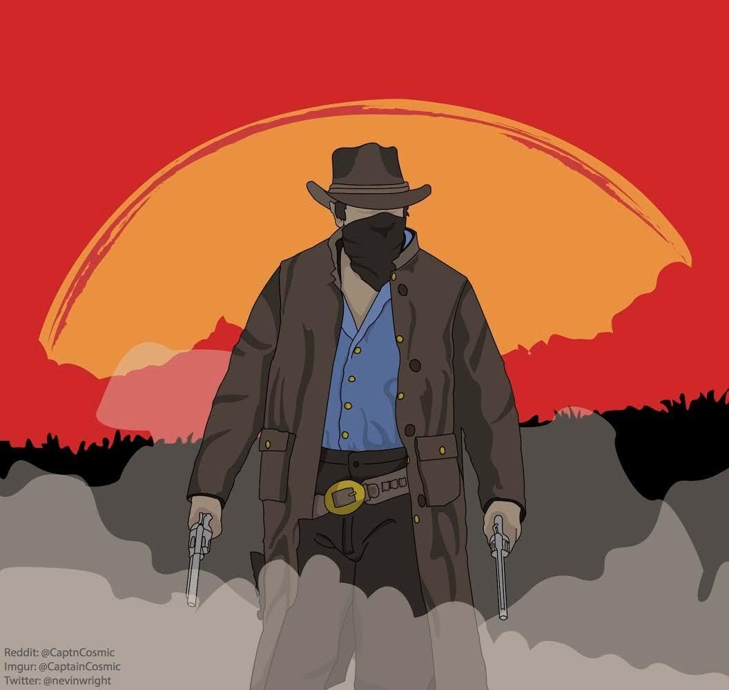 Red Dead Redemption 2 design Ive been working on today the