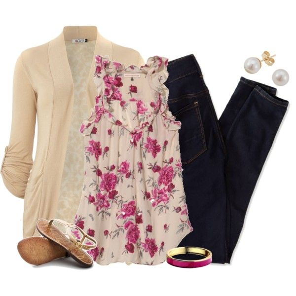A fashion look from April 2014 featuring Rebecca Taylor tops, WalG cardigans and American Eagle Outfitters. Browse and shop related looks.