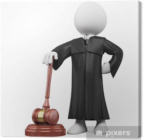 Cuadro En Lienzo 3d Juez Con Toga Y Martillo Pixers Vivimos Para Cambiar Cuadros En Lienzo Toga Lienzos