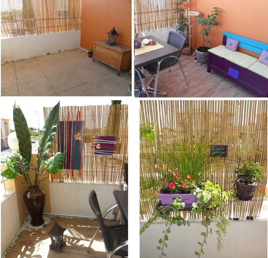 Passionn e de d coration je vous invite d couvrir mes for Idee deco plantes terrasse