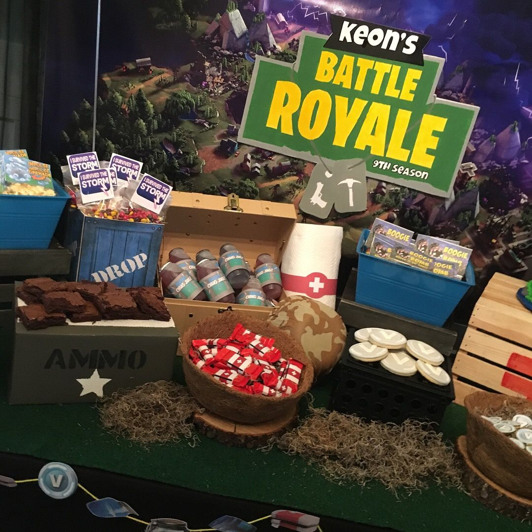 Fortnite Party Table For Centers - Year of Clean Water