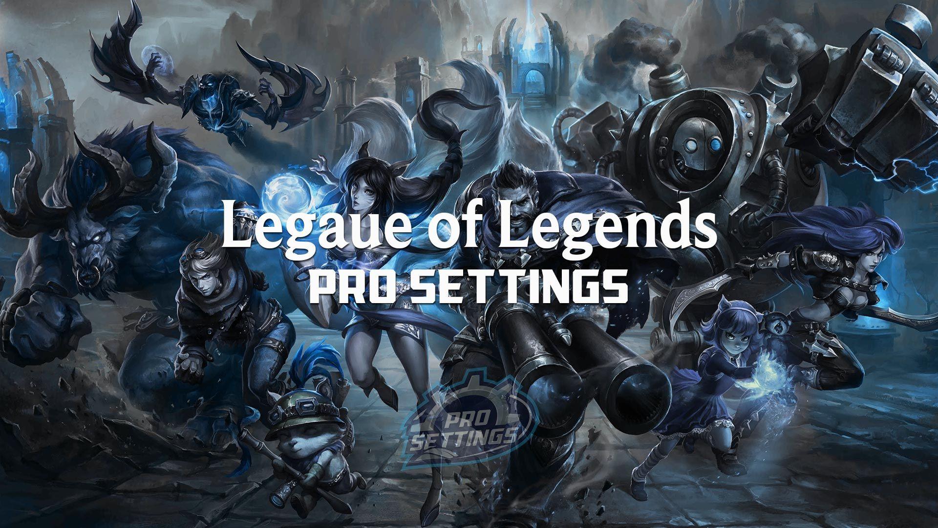 League of Legends (LoL) Pro Settings Setup, Sensitivity