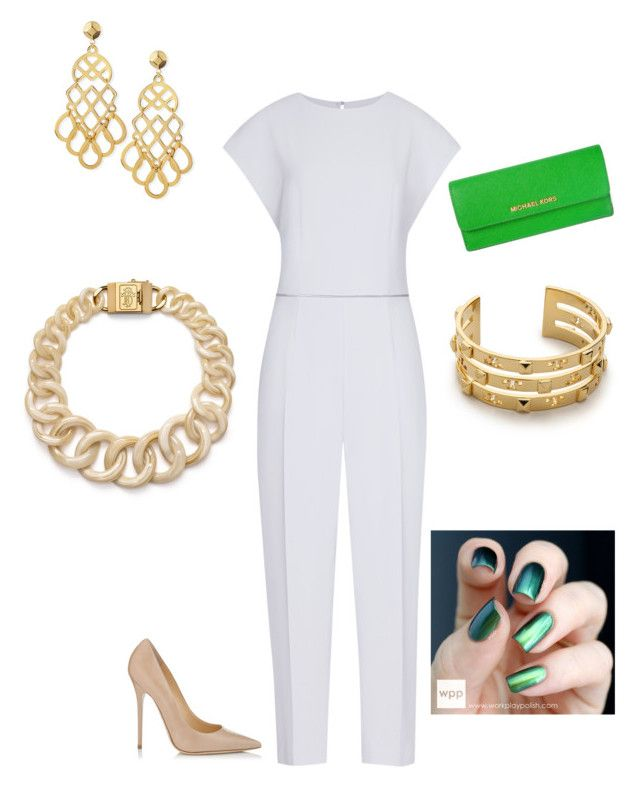 Being Me by livinandluvinlife on Polyvore featuring polyvore fashion style Reiss Jimmy Choo MICHAEL Michael Kors Tory Burch clothing