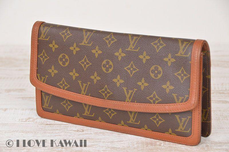 4674356146f3 Louis Vuitton Monogram Pochette Dame GM Clutch Bag M51810