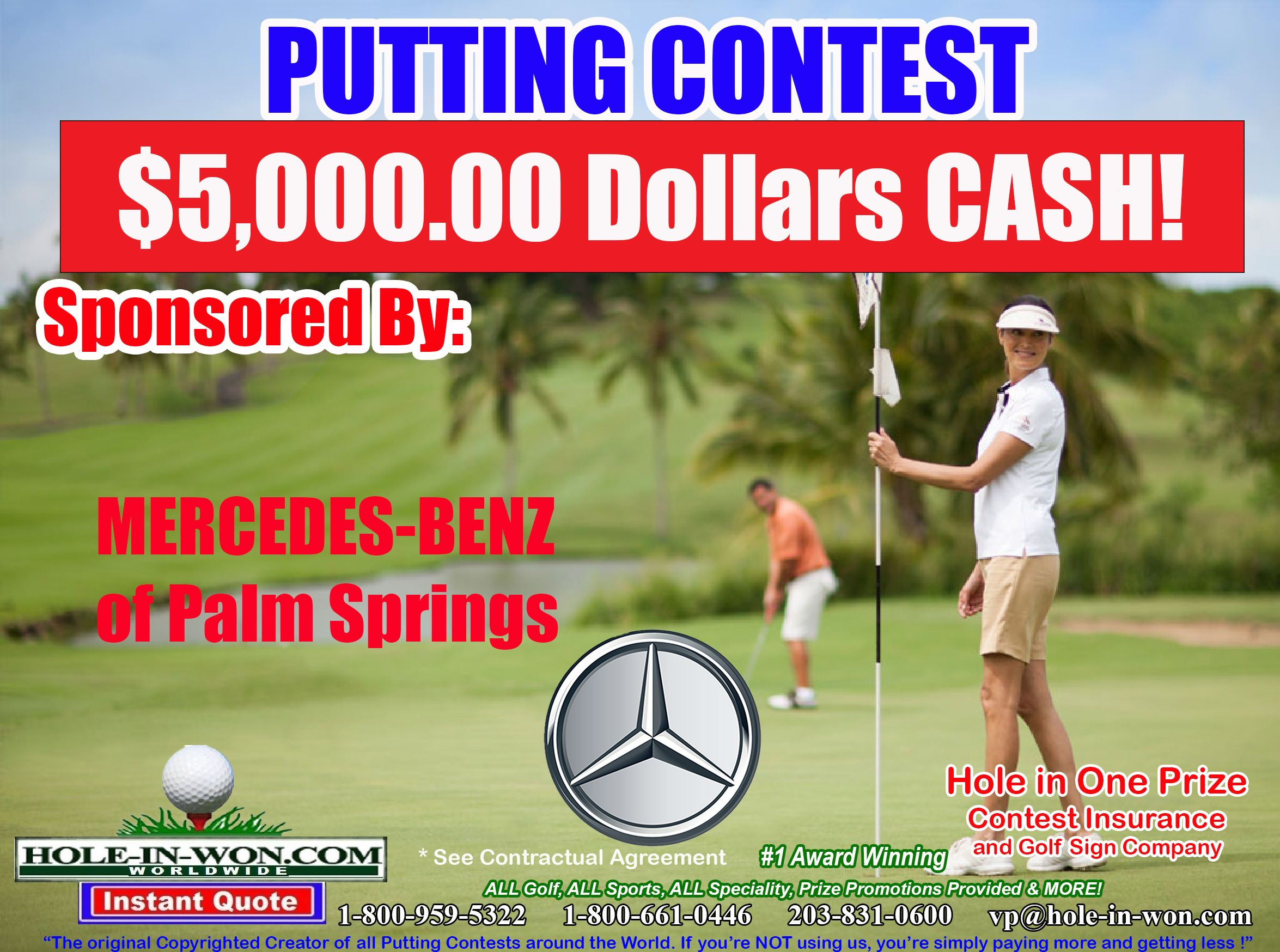 Putting Contests And Putting Contest Insurance 203 831 0600 Vp