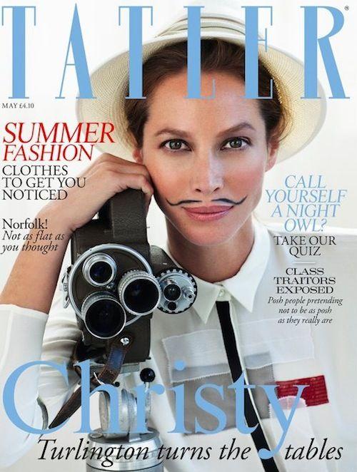 Christy Turlington; Tatler magazine; May 2012