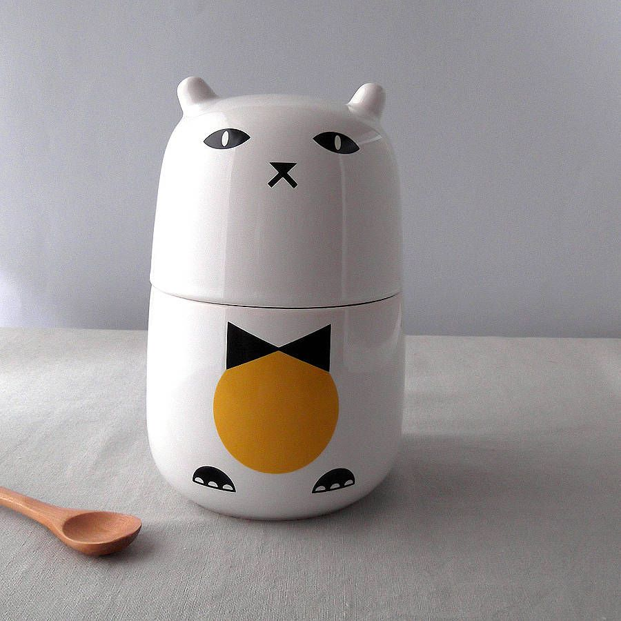 Tuxedo Cat Storage Jar Jar Storage Cat Gifts Personalized Gifts