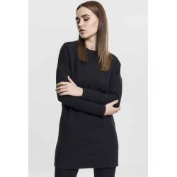 Urban Classics Damen Kleid Longshirt Kurz Boho Cocktail Quilt Oversize Dresstb1508 olive Viscose Ban